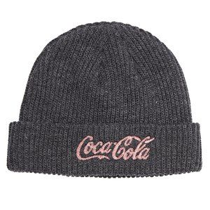 NWT Coca Cola x Been Trill Collab Gray Beanie Hat